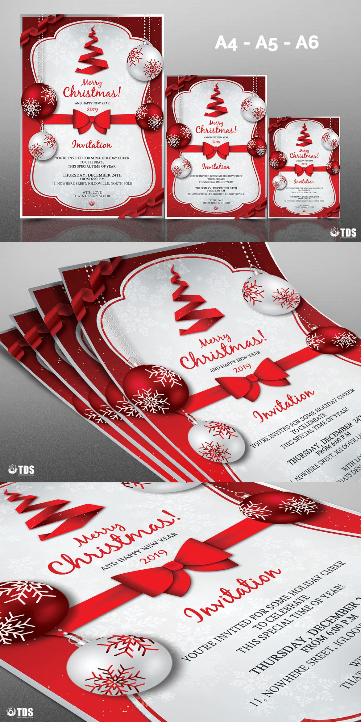 christmas invitation template psd xmas flyer card card christmas invitation template psd xmas flyer card