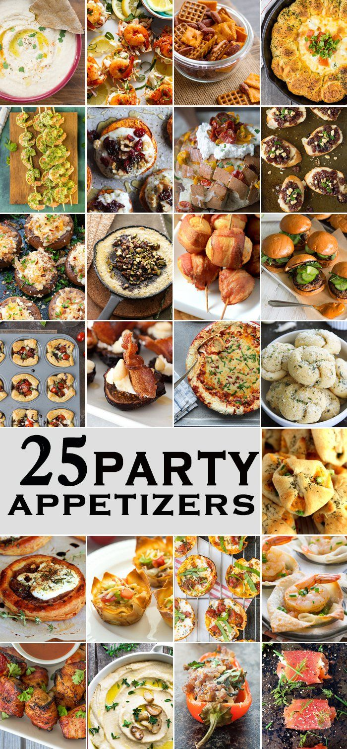 25 party appetizers perfect for tailgate christmas new for Great party appetizer recipes
