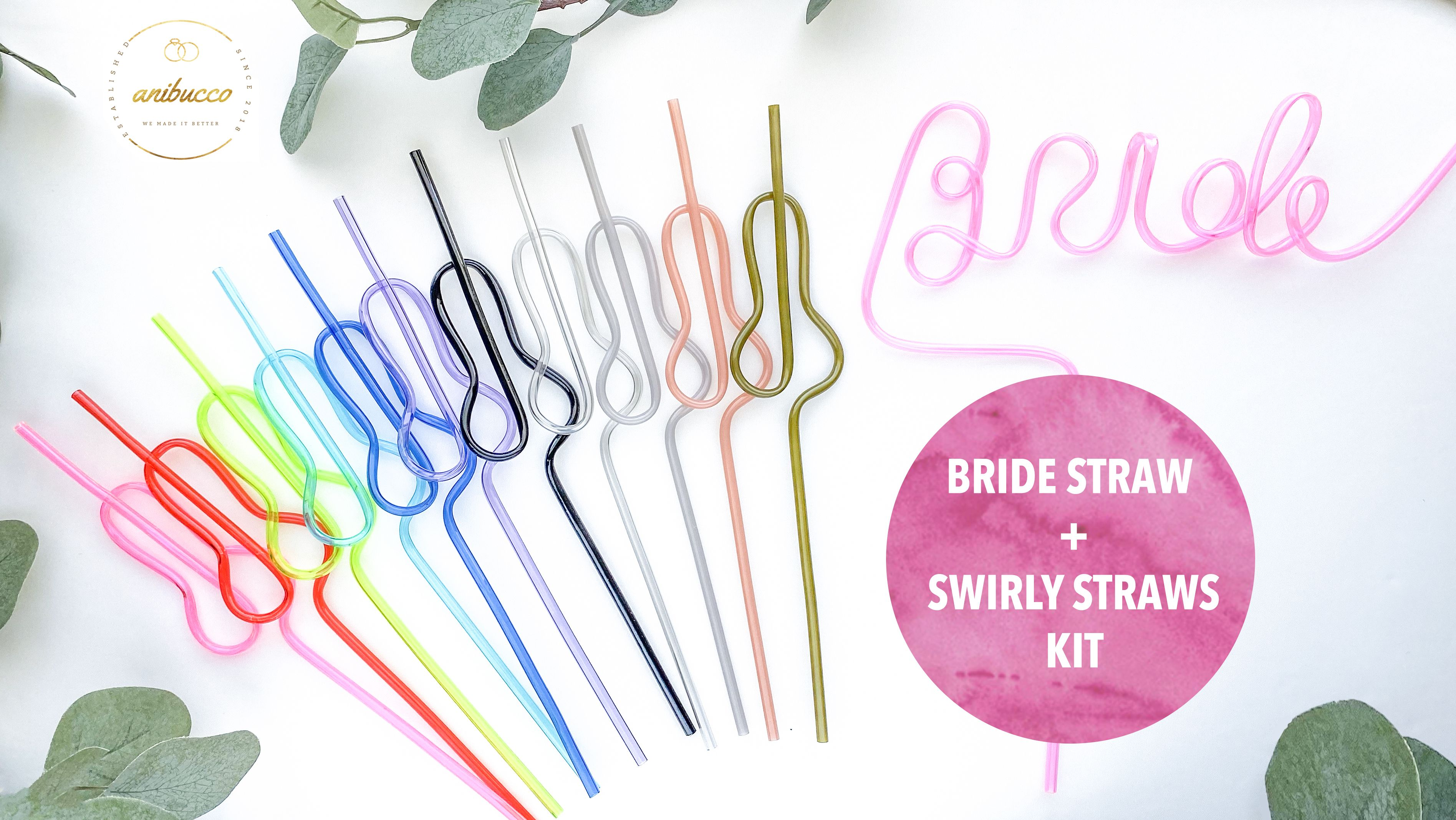 Penis Straws Party Supplies Bachelorette Party Favor PINK 5-50 Pack Bach Bash Party Decorations Bridal Wedding Shower Drinking Game