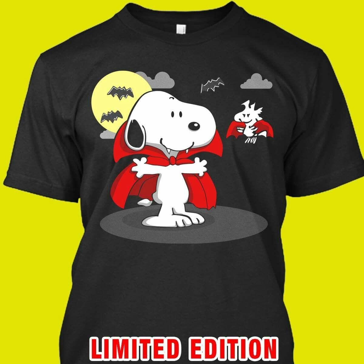 snoopy vampire halloween shirt | snoopy | pinterest | snoopy
