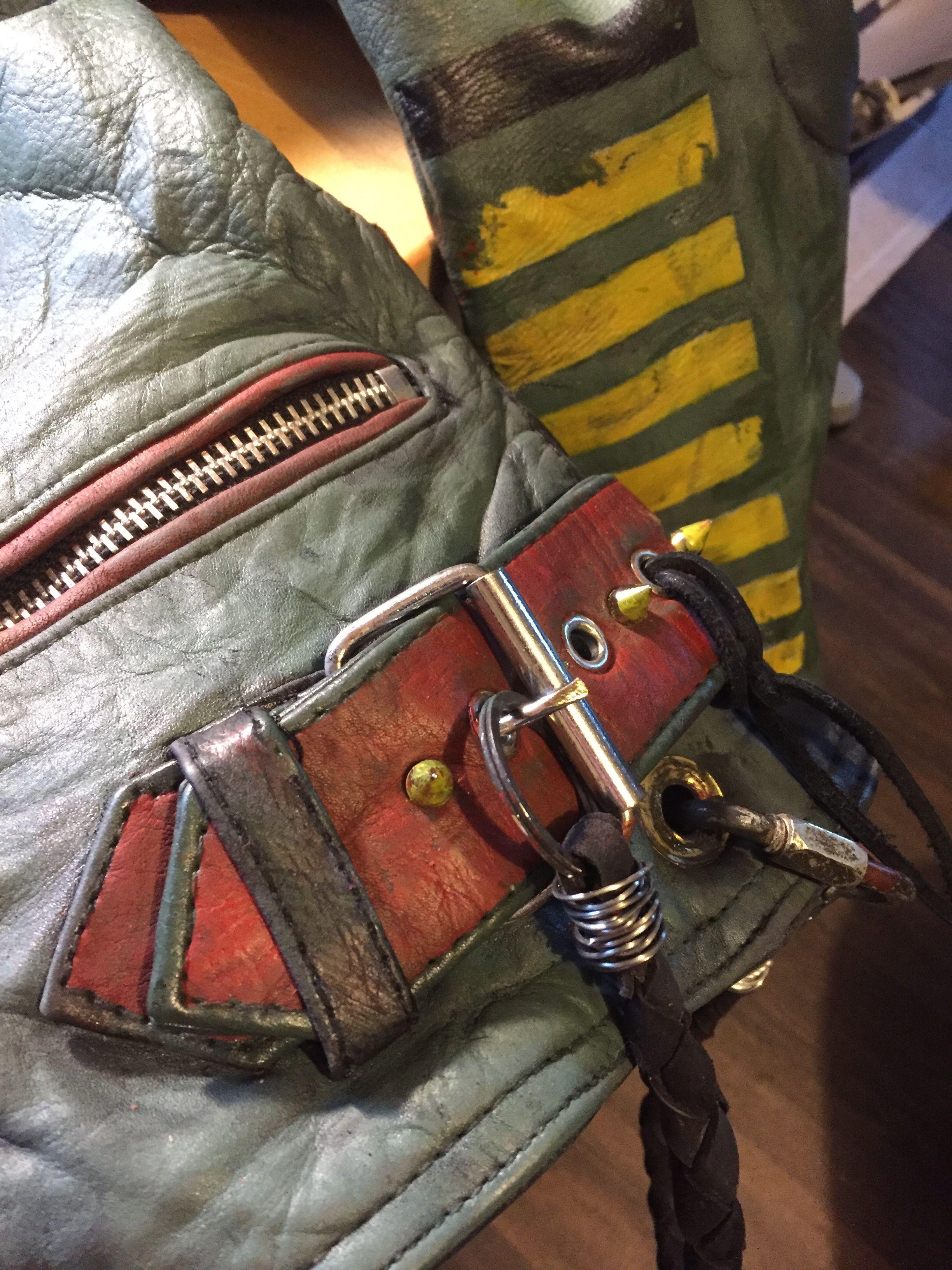 Boba Fett Inspired Leather Jacket Boba Fett Leather Boba