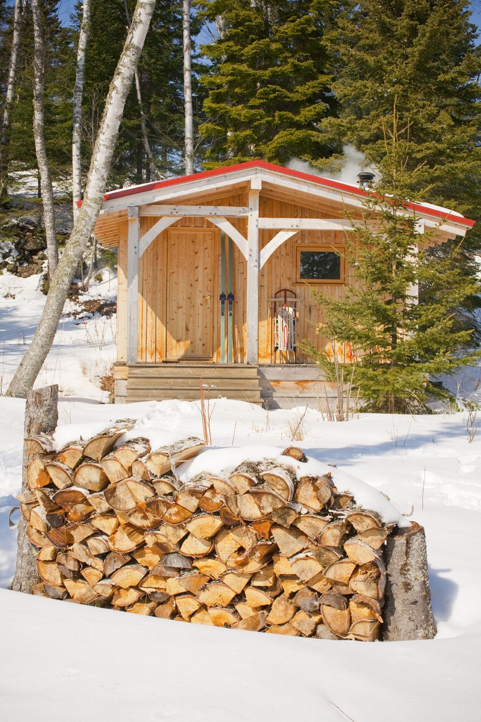 Wood Burning Sauna Plans | How To Build A Easy DIY Woodworking .