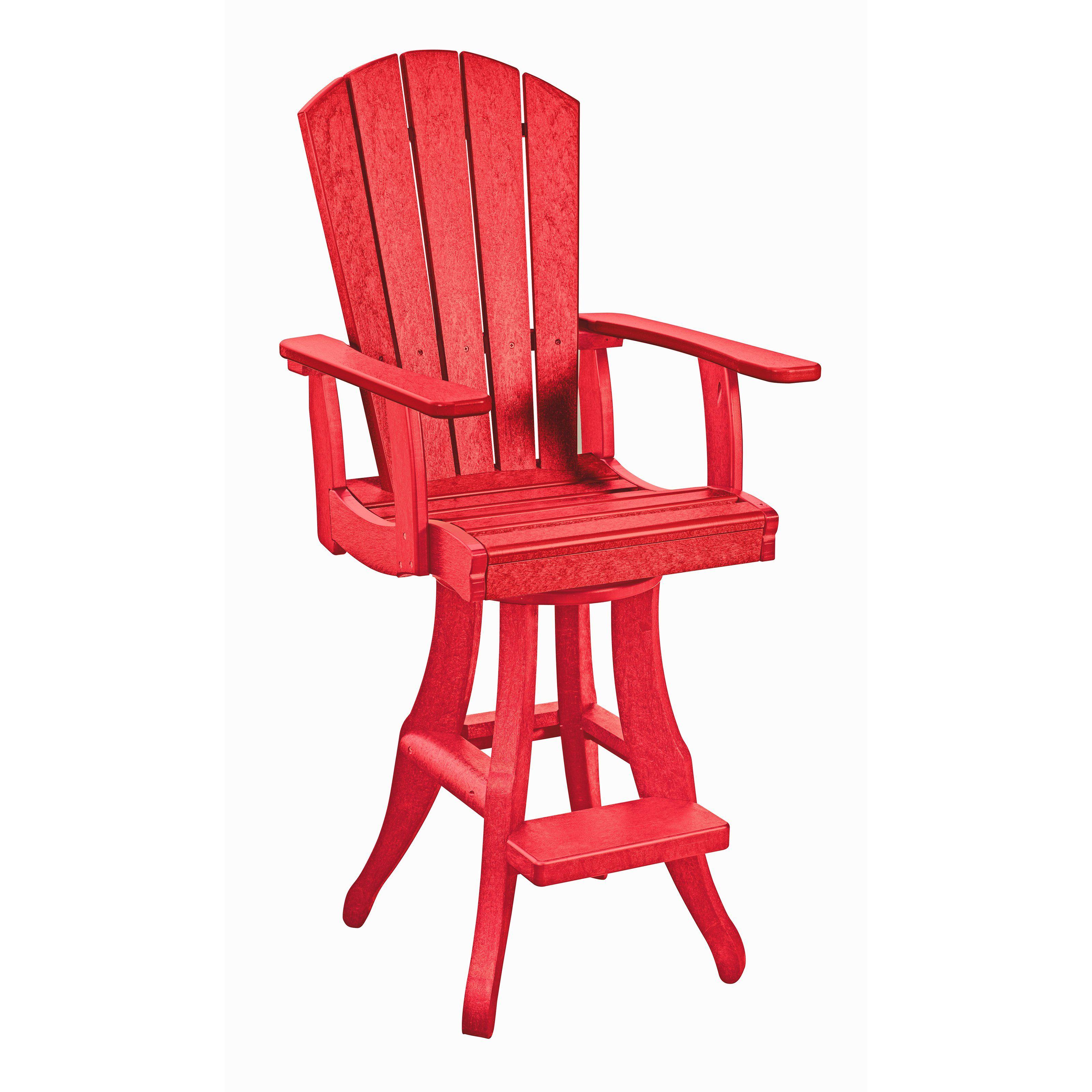 CR Plastic Generations Swivel Arm Pub Chair from