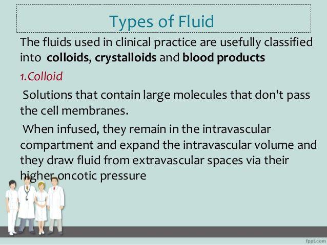 iv fluid types