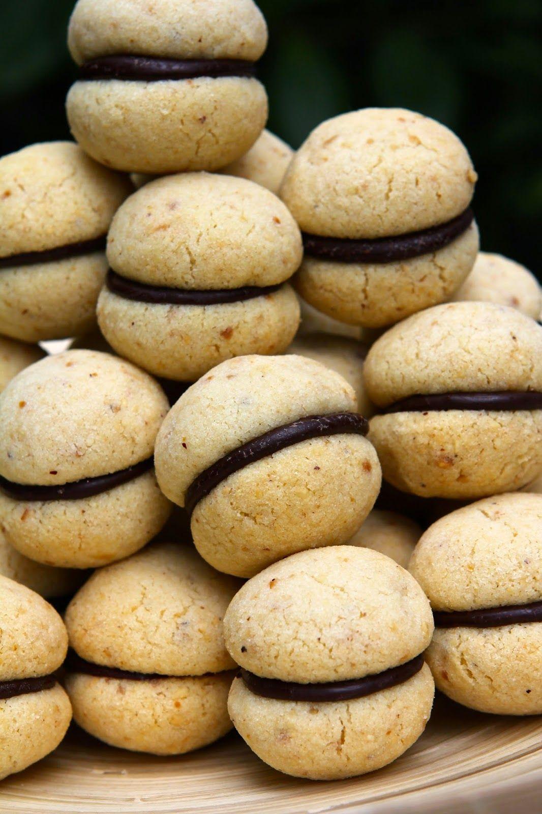 Gluten Free Alchemist: Baci di Dama Cookies - gluten free