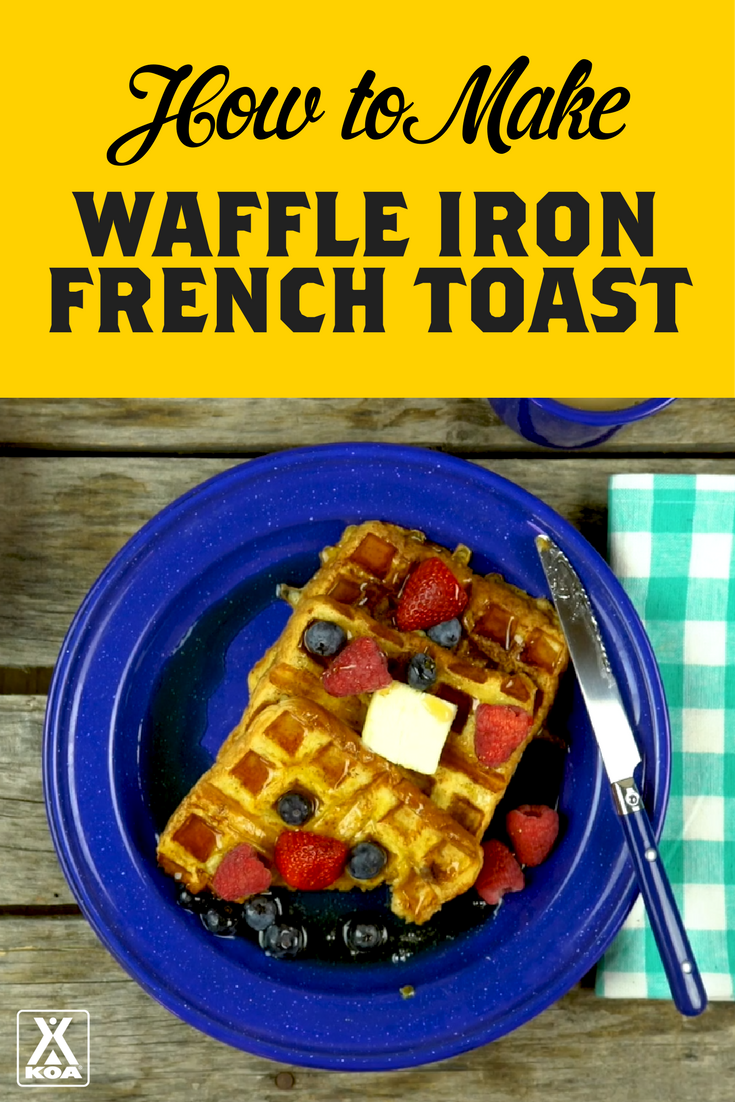 Make French Toast in a Snap with a Waffle Iron!