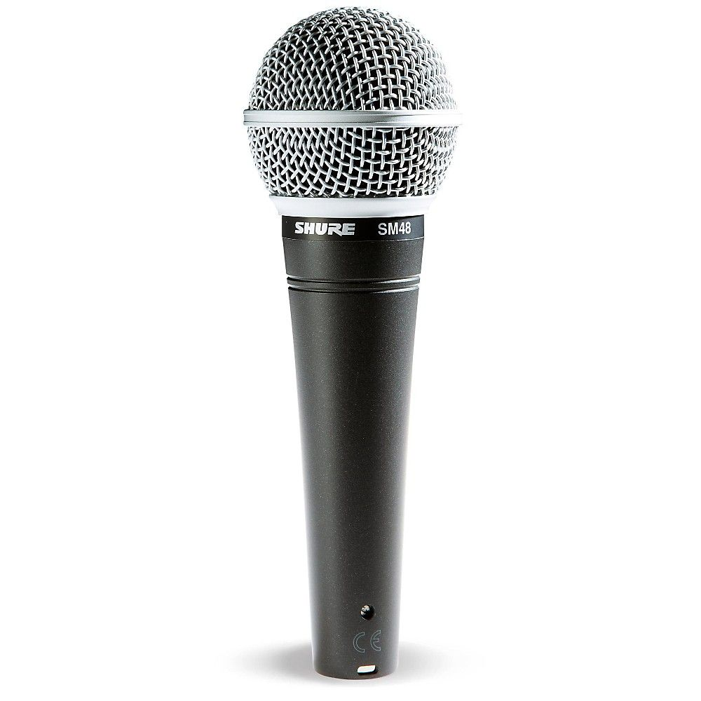 Shure Sm48 Cardioid Dynamic Vocal Microphone In 2020 Microphone Pro Audio Equipment Microphone For Sale