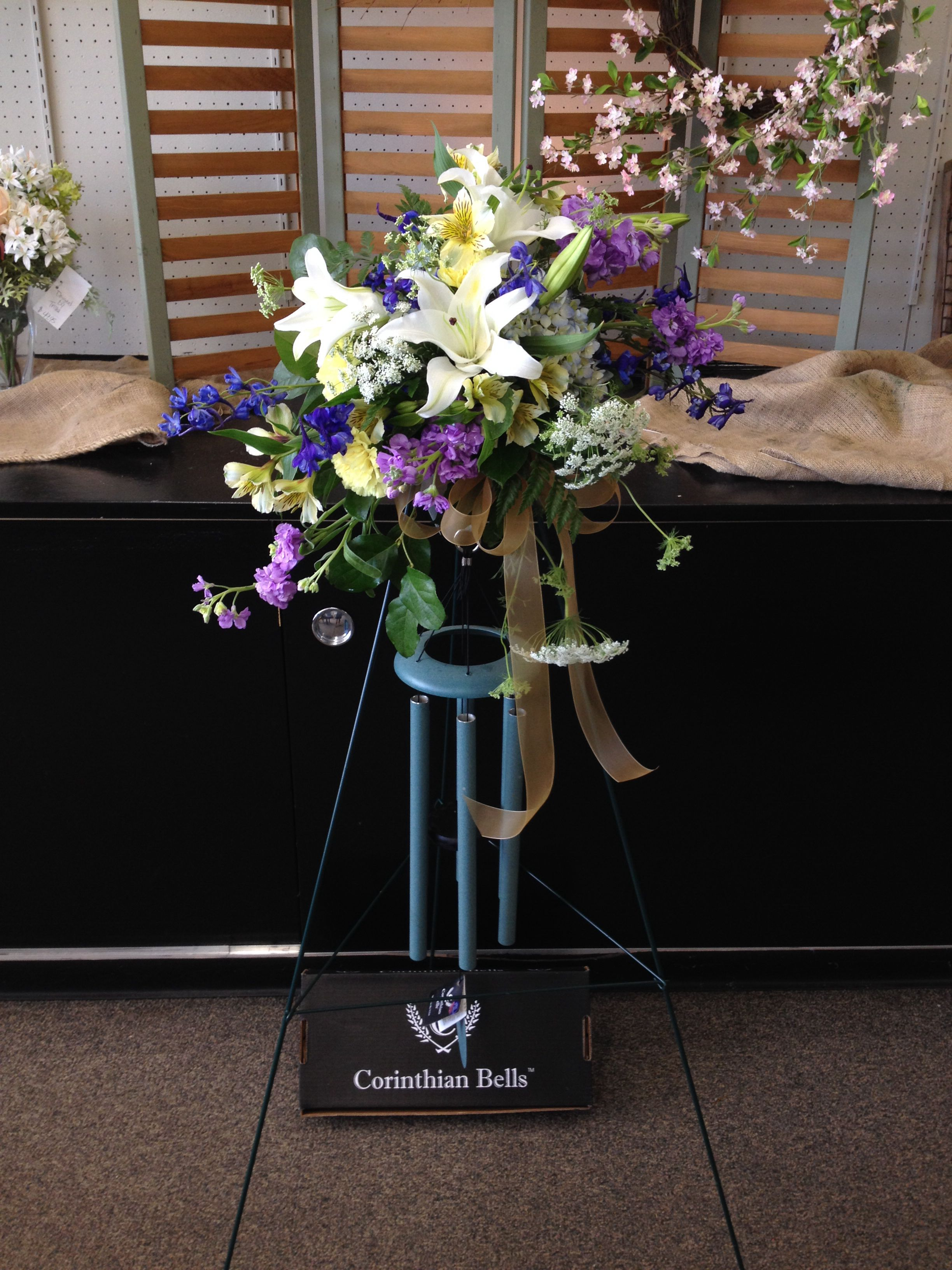 Jackson Florist Beautiful Fresh Flowers On A Easel With Premium