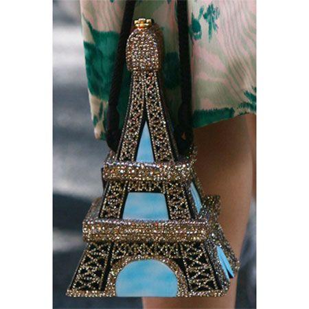 Eiffel Tower Purse