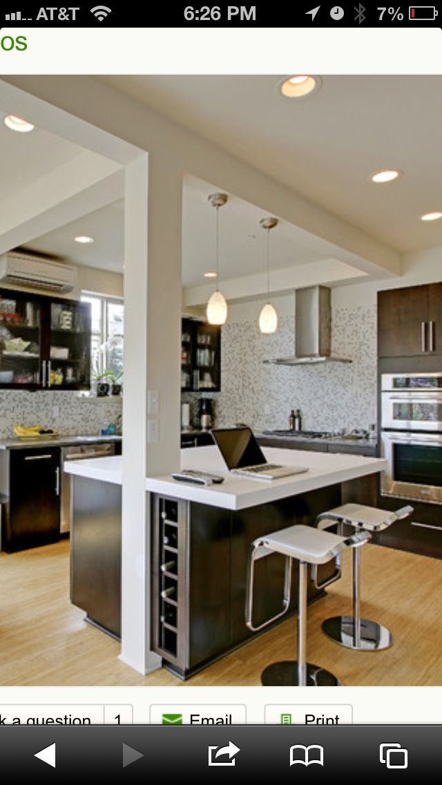 Support Beams As Decorative Columns Kitchen Traditional With Stainless Steel Appliances In C Stools For Kitchen Island Kitchen Remodel Kitchen Island With Legs