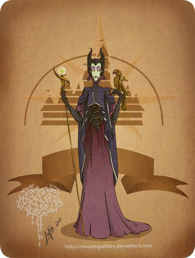 Disney Steampunk Character Cutomization Images - Malefica