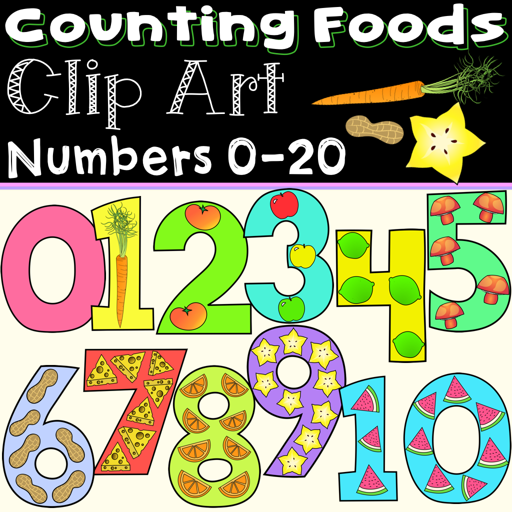 Counting And Numbers Clip Art 0 20