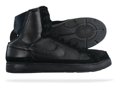 Nike Air Troupe Mid Womens Dance sneakers Shoes Black