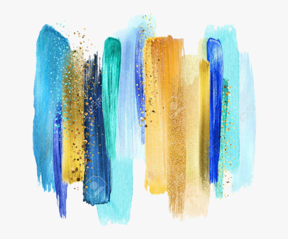 Download And Share Turquoise Smear Smudge Painting Paint Lipstick Gold Paint Smear Png C Turquoise Color Palette Abstract Watercolor Gold Color Scheme