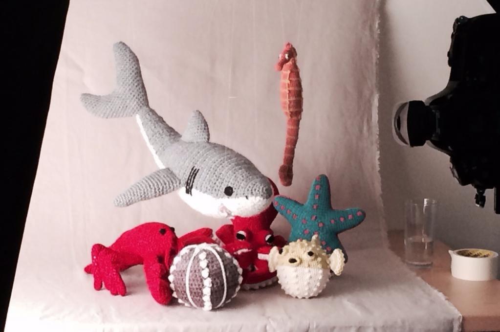 Knitted Amigurumi Sea Creatures : A sneak peak from Vanessa Mooncies future title Crocheted ...