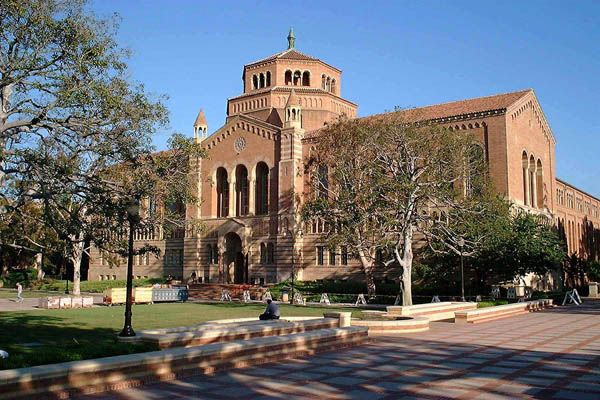 """UCLA's Powell Library, where Bradbury wrote F451 as """"The Fireman"""" - as fast as he could, at the typewriter rental rate of .20/hour!  / Share while reading or teaching FAHRENHEIT 451 by Ray Bradbury.  For unique hands-on literature activities and downloadable LitWits Kits (with project/activity ideas, templates, takeaway topics, printables/keys, prop ideas and more), visit http://www.litwitsworkshops.com"""