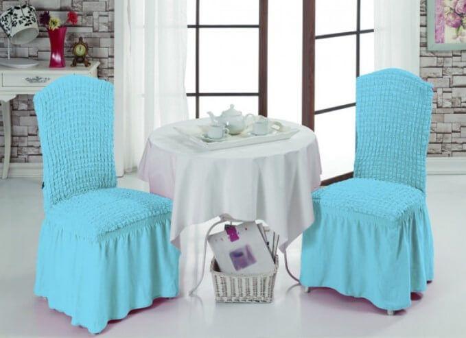 Красивые чехлы на стулья   Чехлы, Мебель для двора и ...