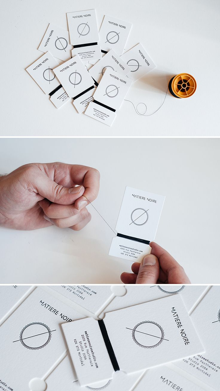 Limited edition sewing thread card style handmade business cards limited edition sewing thread card style handmade business cards designed for montreal based fashion label magicingreecefo Images