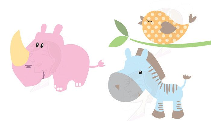 Baby Animals Clipart Free Commercial Use Cute Clip Art Etsy Animal Clipart Animal Clipart Free Baby Animals