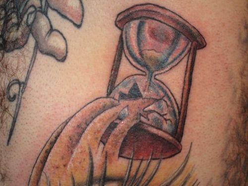 Broken hourglass tattoo  Broken Hourglass Tattoo Design Images & Pictures - Becuo | Broken ...