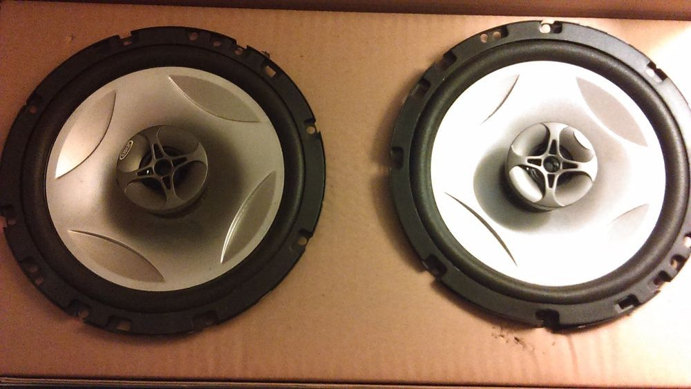 JENSEN-Power-Plus-652 6-1/2 Coaxial Car Woofer Speakers  #Jensen