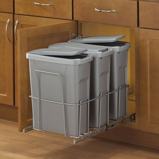 Kitchen Helpers: 10 Multi Compartment Sorting Garbage U0026 Recycling Bins