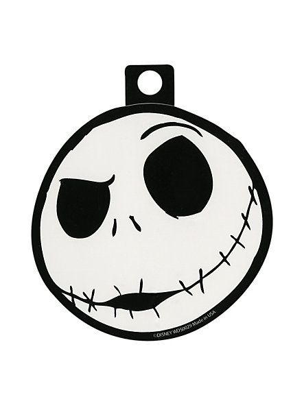 The Nightmare Before Christmas Jack Head Sticker | Hot Topic