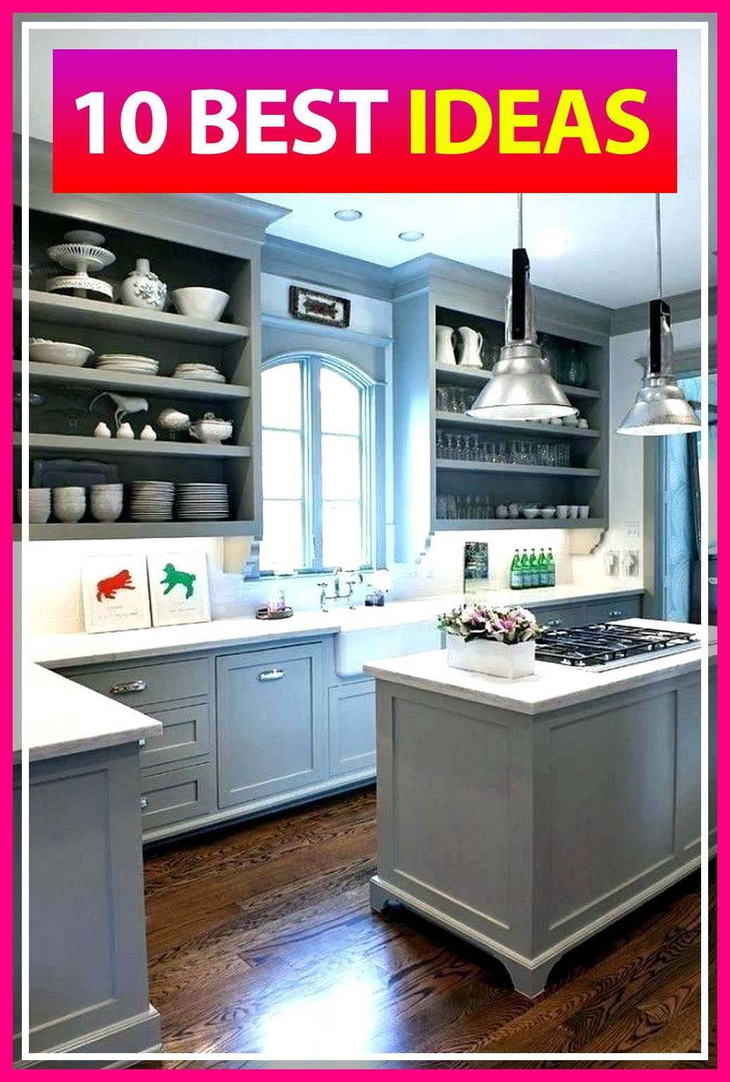 10 Marvelous Best Kitchen Cabinet Paint Colors Grey Online #graykitchencabinets