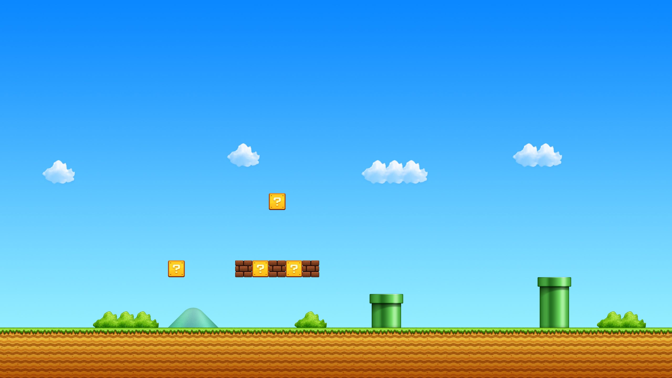 A Level From The Game Super Mario All Stars