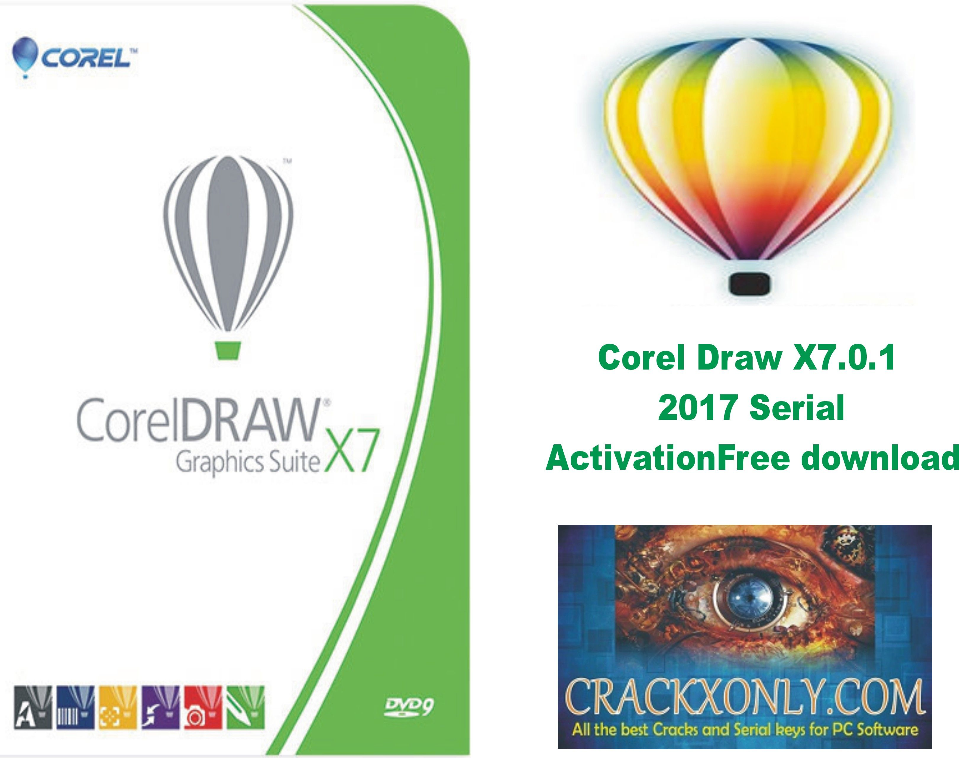 Corel Draw X7 0 1 2017 Serial Activation Free download