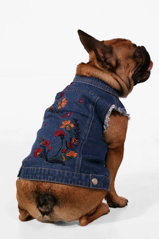 Womens Clothing Baxter Mini Me Embroidered Denim Dog Jacket Nqne8779 Denim Dog Dog Coat Pattern Dog Jacket [ 1500 x 1000 Pixel ]