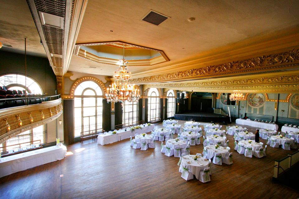 Mcmenamins Weddings At Crystal Ballroom Property Wedding