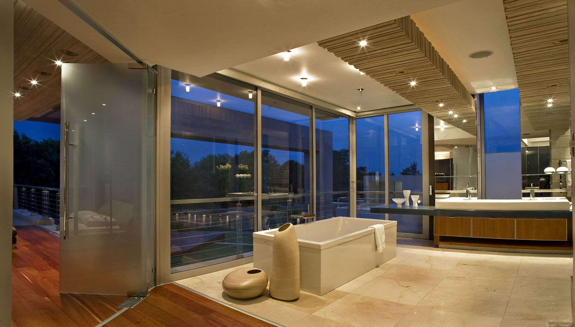 Contemporary Bathrooms South Africa glass housenico van der meulen architects | glass houses