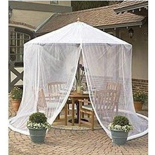 Umbrella Mosquito Net Canopy Patio Set Screen House Outdoor Garden