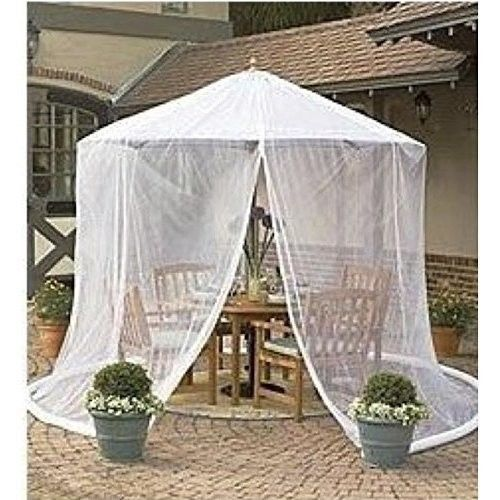 umbrella mosquito net canopy patio set