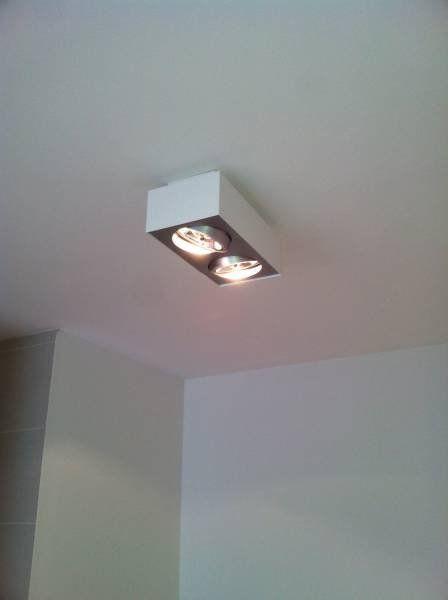 Click Licht geradliniger lirio spot bloq in weiß 2flg lirio 5700231li