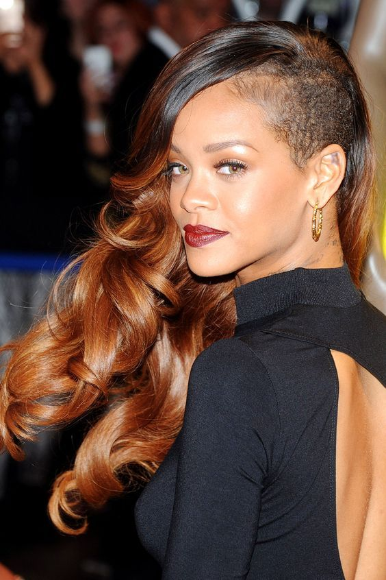 20 Rihanna Hairstyles Celebrity Hairstyles With Pictures