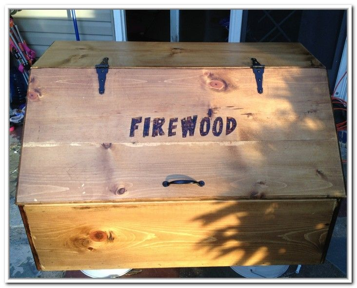 Firewood Boxes | Firewood Storage Box Plans