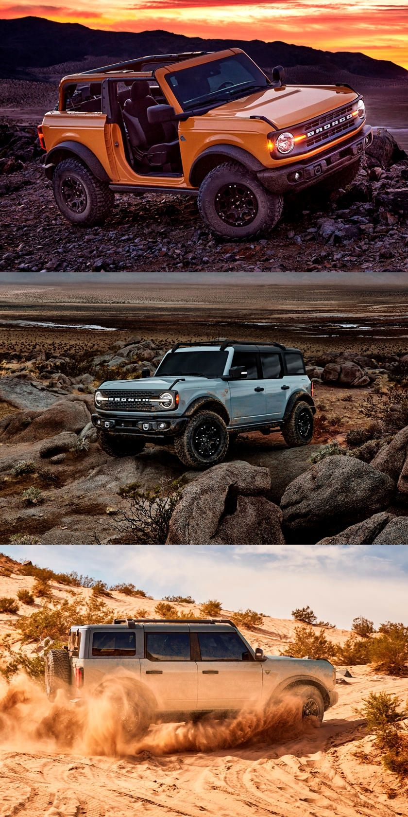 2021 Ford Bronco Revealed It S Everything We Hoped For Jeep S