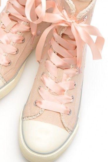 9c3c83ba6 velvet converse with ribbon laces - Google Search
