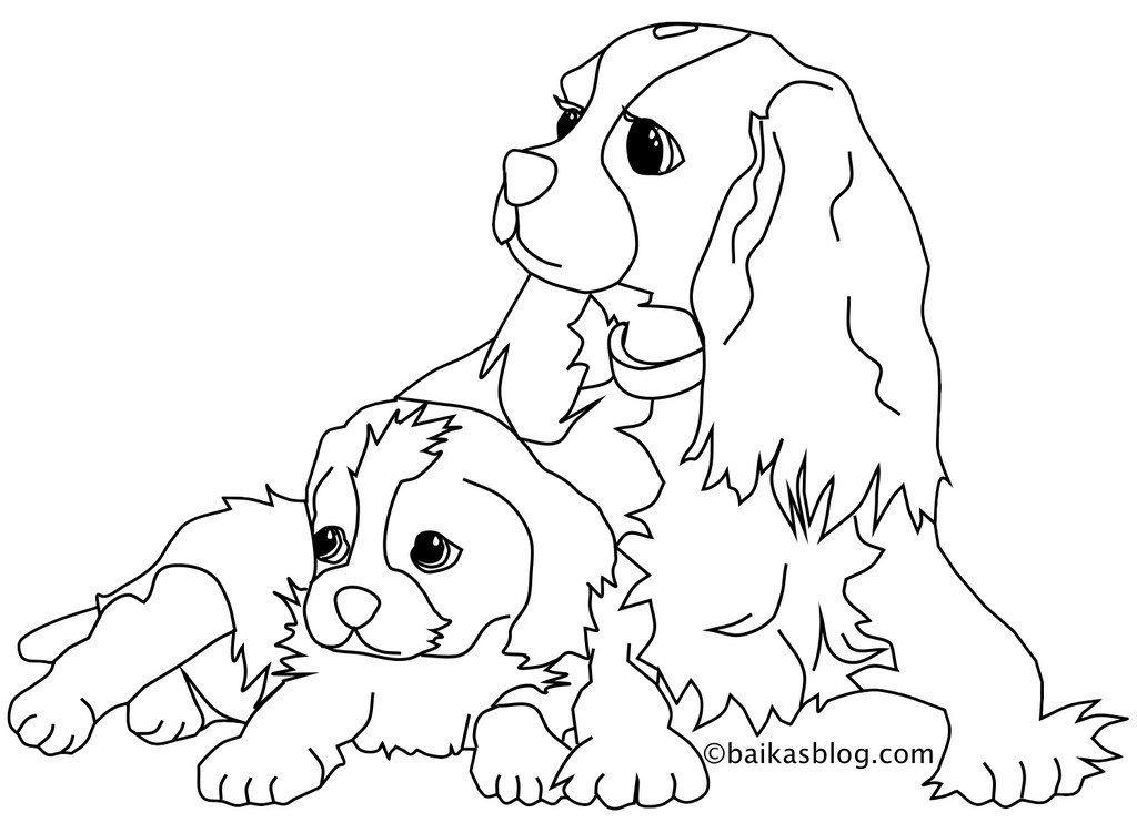 Coloriage De Chien A Imprimer Dog Template Coloring Books Art
