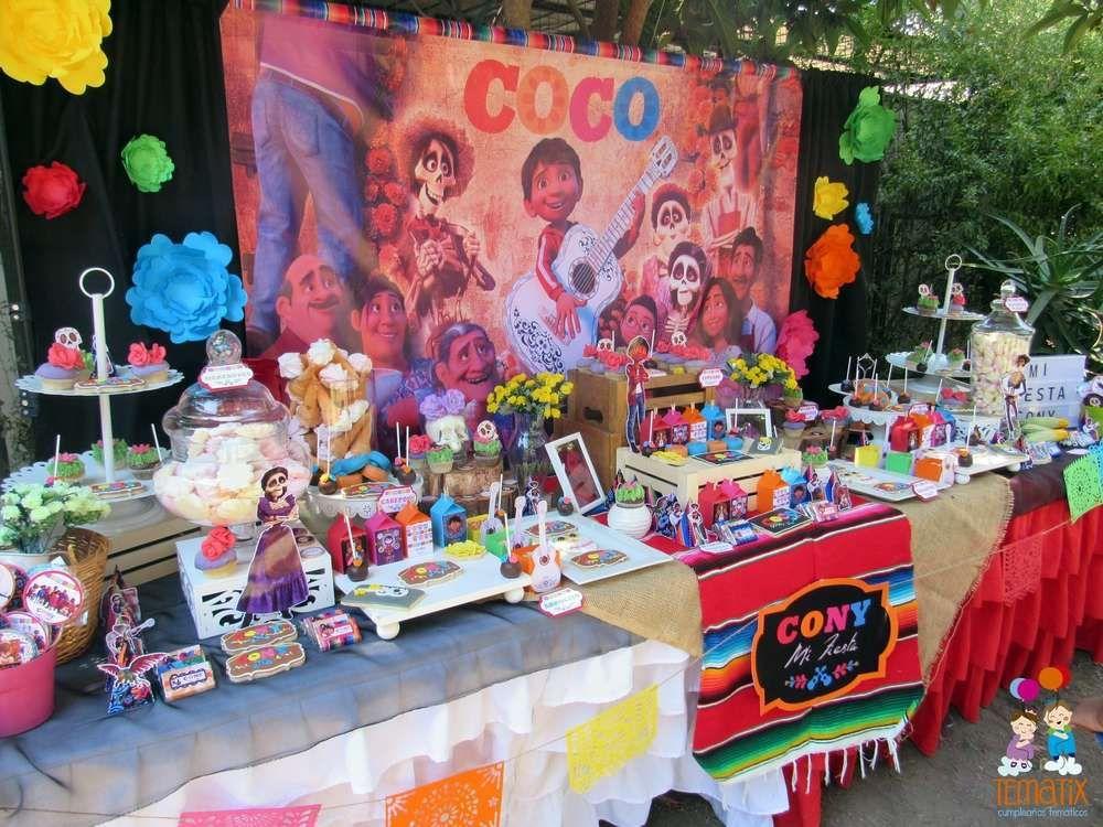 coco movie birthday party ideas in 2019 fiesta party ideas candy rh pinterest com