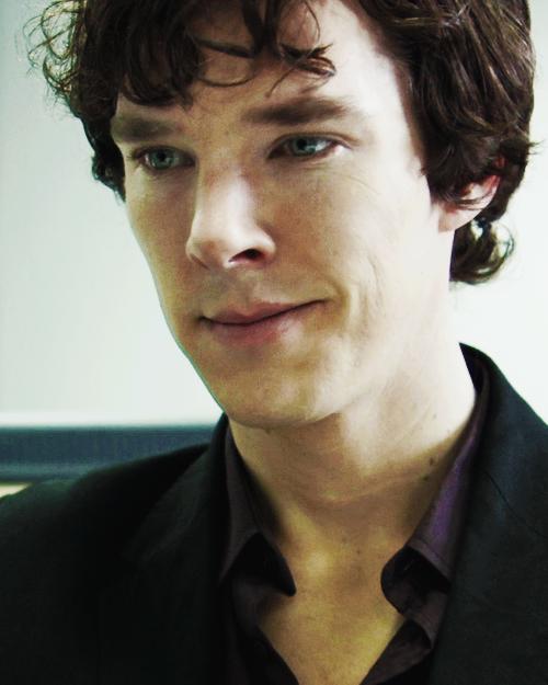 """I feel accomplished. I made the great Sherlock Holmes ..."