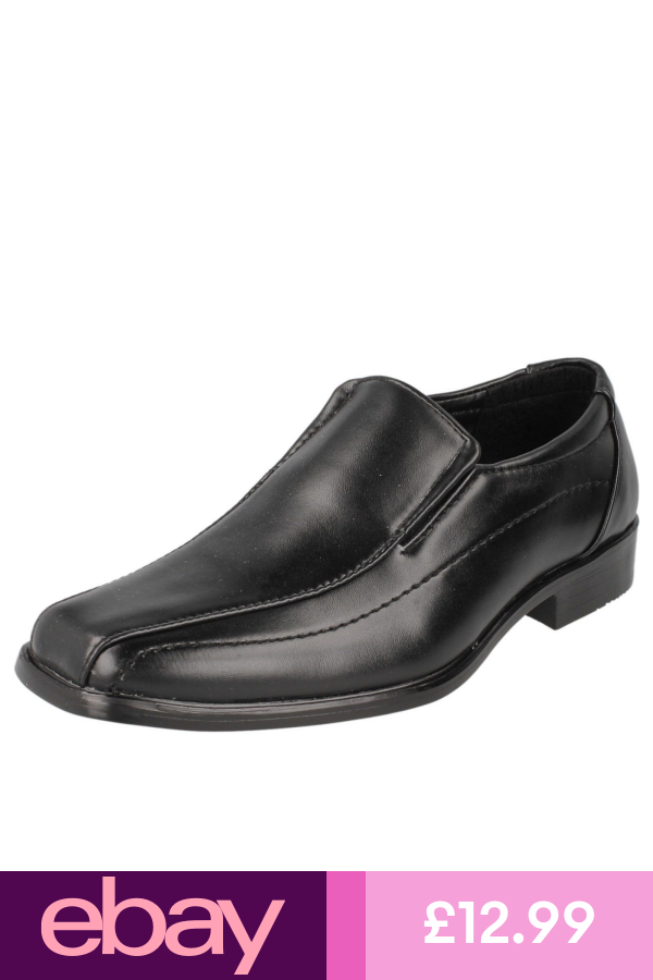 Boys JCDees Casual Slip On Shoes