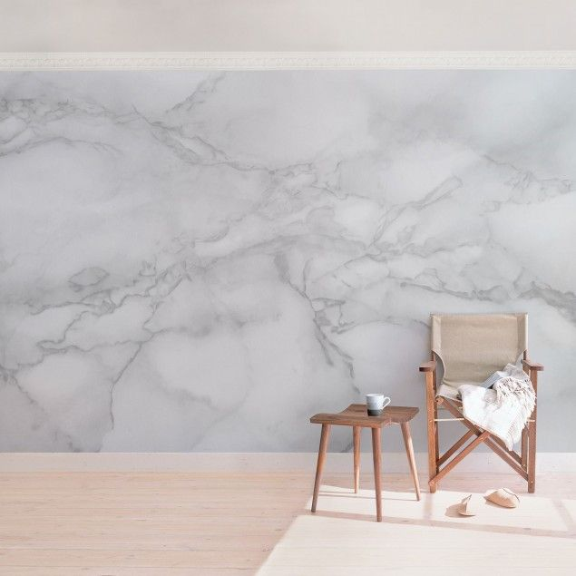 marmor tapete marmoroptik schwarz wei vlies wandtapete breit zuk nftige projekte. Black Bedroom Furniture Sets. Home Design Ideas