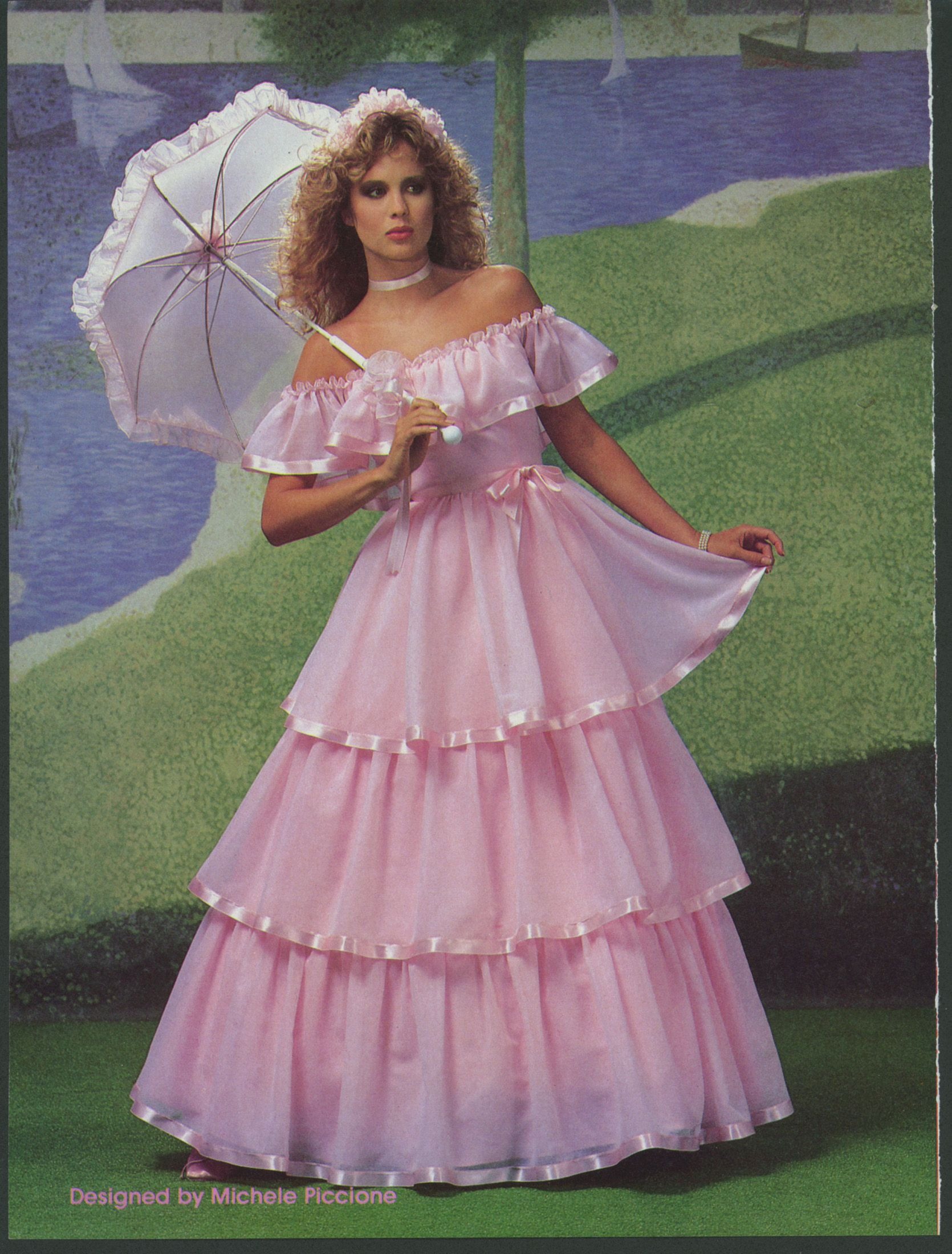 Brides Dec 1984 Jan 1985 80s Prom Dress Pretty Dresses Beautiful Dresses [ 2200 x 1670 Pixel ]