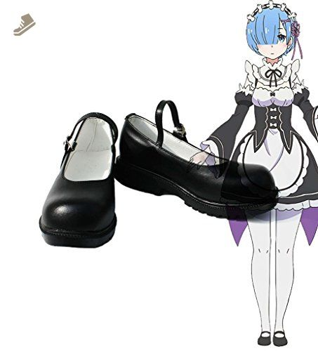 Re:ZERO Starting Life in Another World Rem Ram Cosplay Shoes Boots Custom Made
