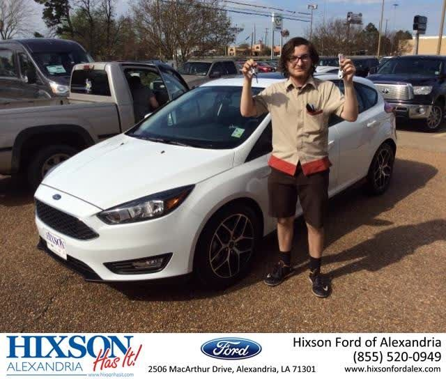Congratulations Cody On Your Ford Focus From Joel Massey At
