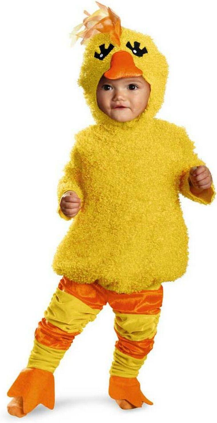 0ab35daa8977 Yellow Duck Baby Costume