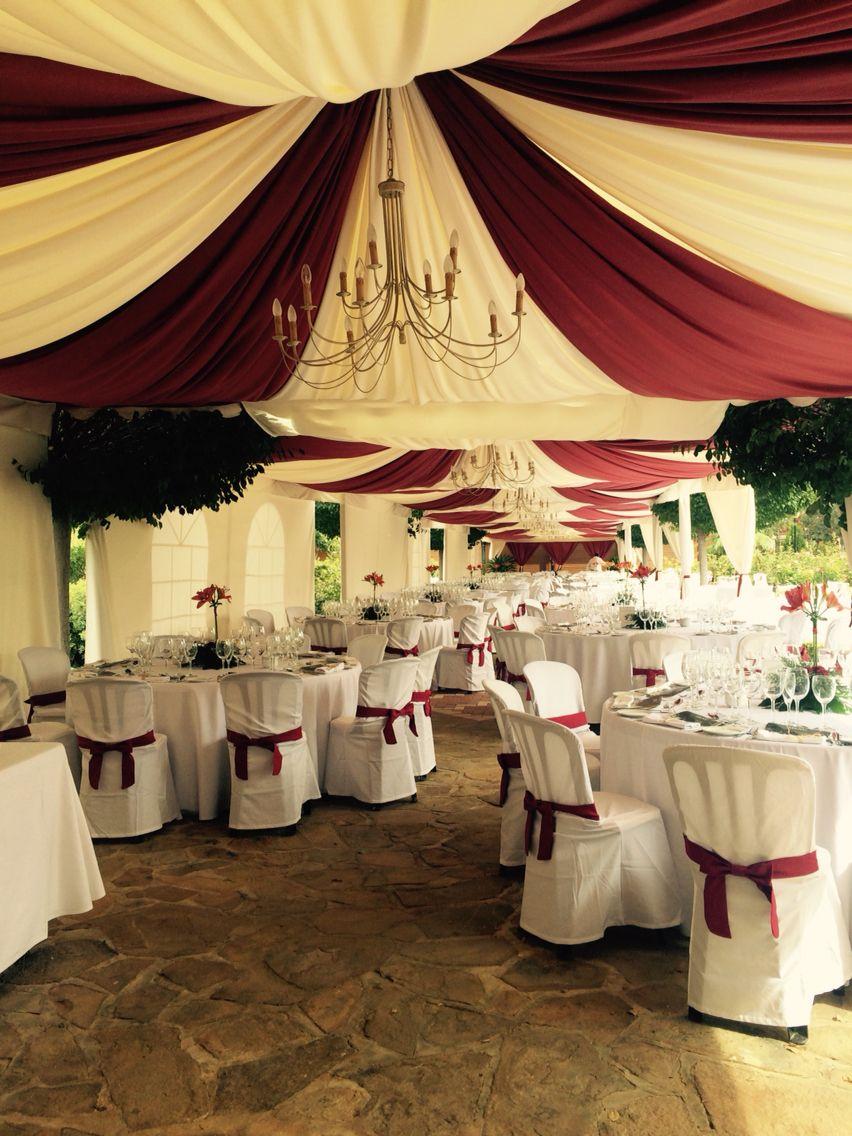 Jaimas decoradas para boda carpas pinterest boda for Decoracion de cielo